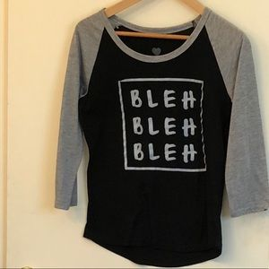 Tops - Graphic Bleh Bleh Top